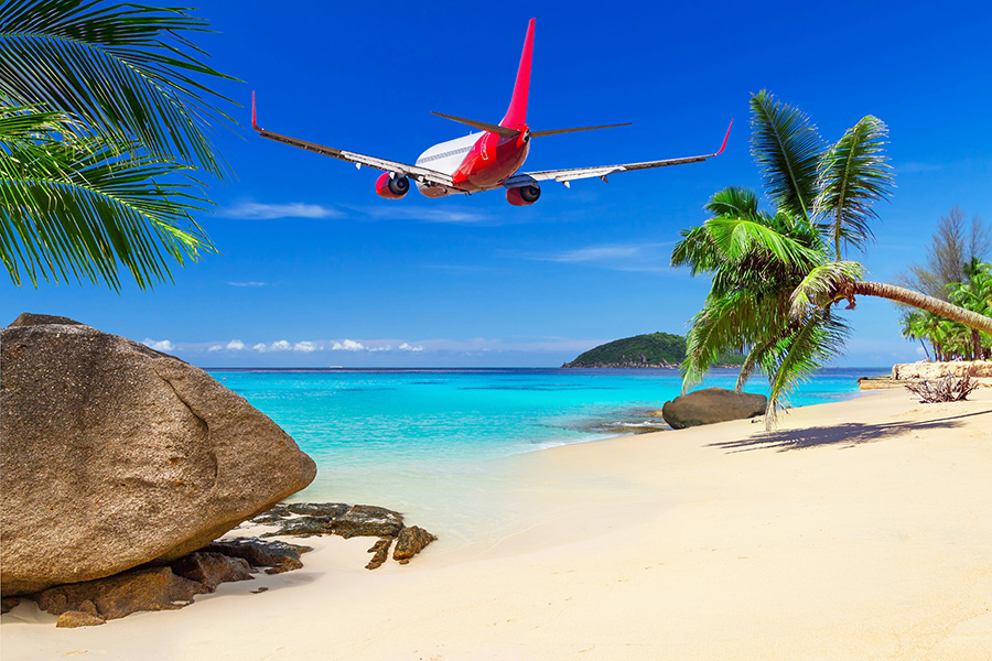 free flight to thailand