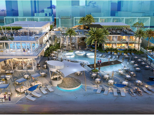 Construction begins at The Bay and Beach Club