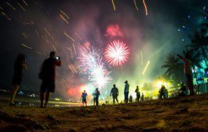 Celebrating New Years Eve in Phuket