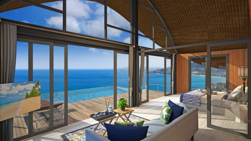 Enjoy your life at the Kamala Bay Ocean View Cottages