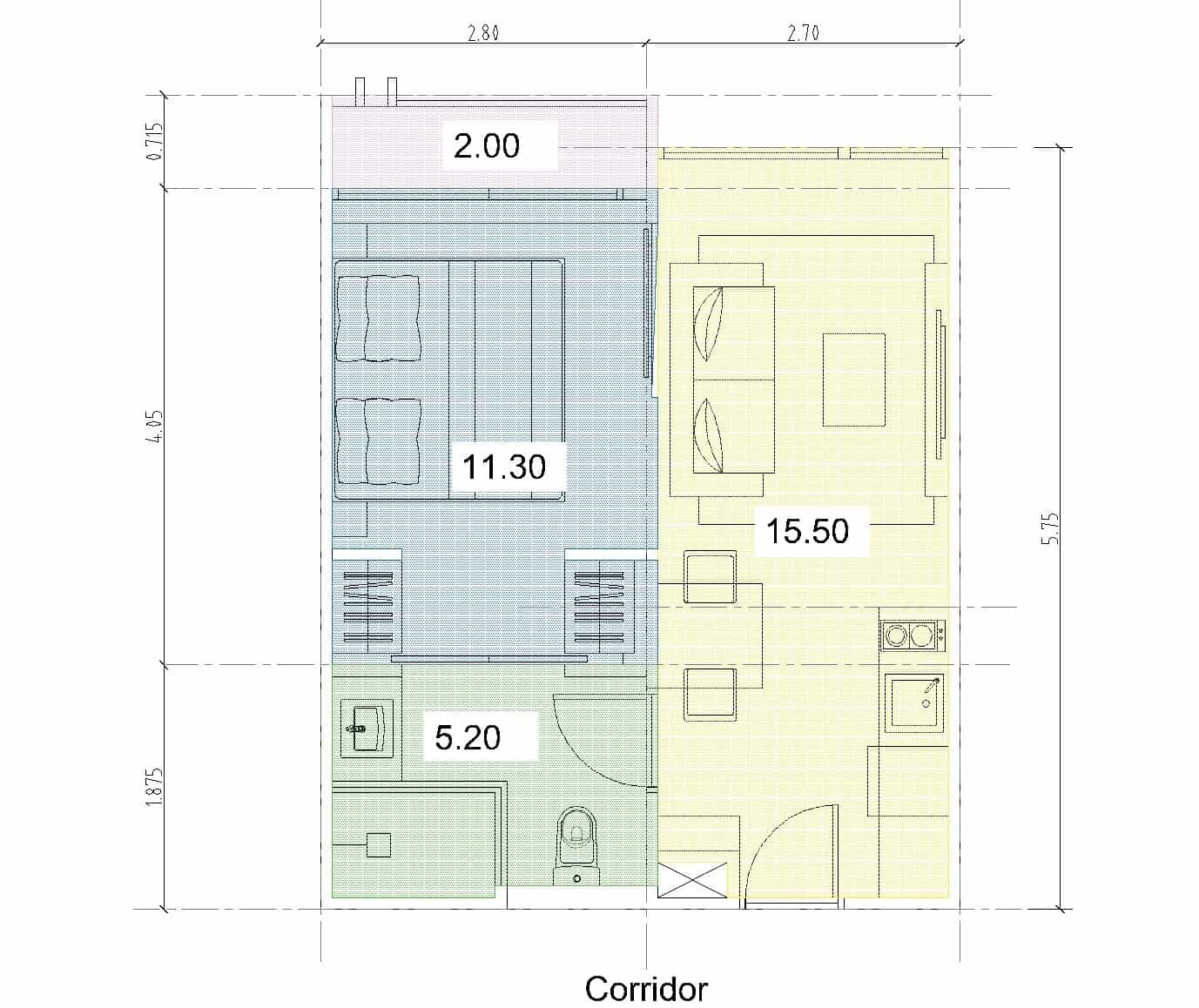 PBR3 Room Layout