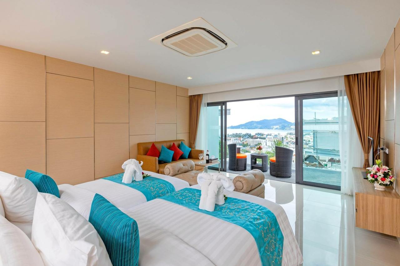 Phuket Holiday Service Real Estate Projects Phuket Thailand About Patong Bay Hill Resort11