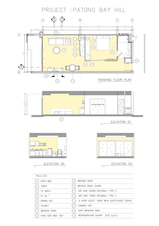 Phuket Holiday Service Real Estate Projects In Phuket Thailand PATONG BAY HILL RESORT PHUKET Master Plan 9