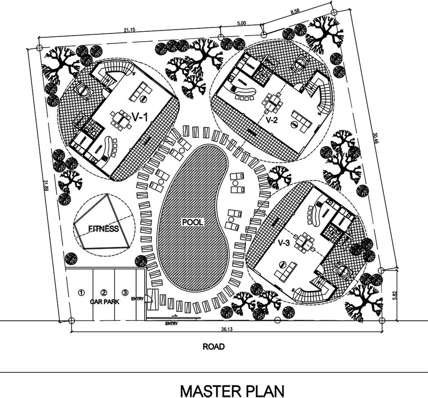 Phuket Holiday Services Kata Cove Master Plan