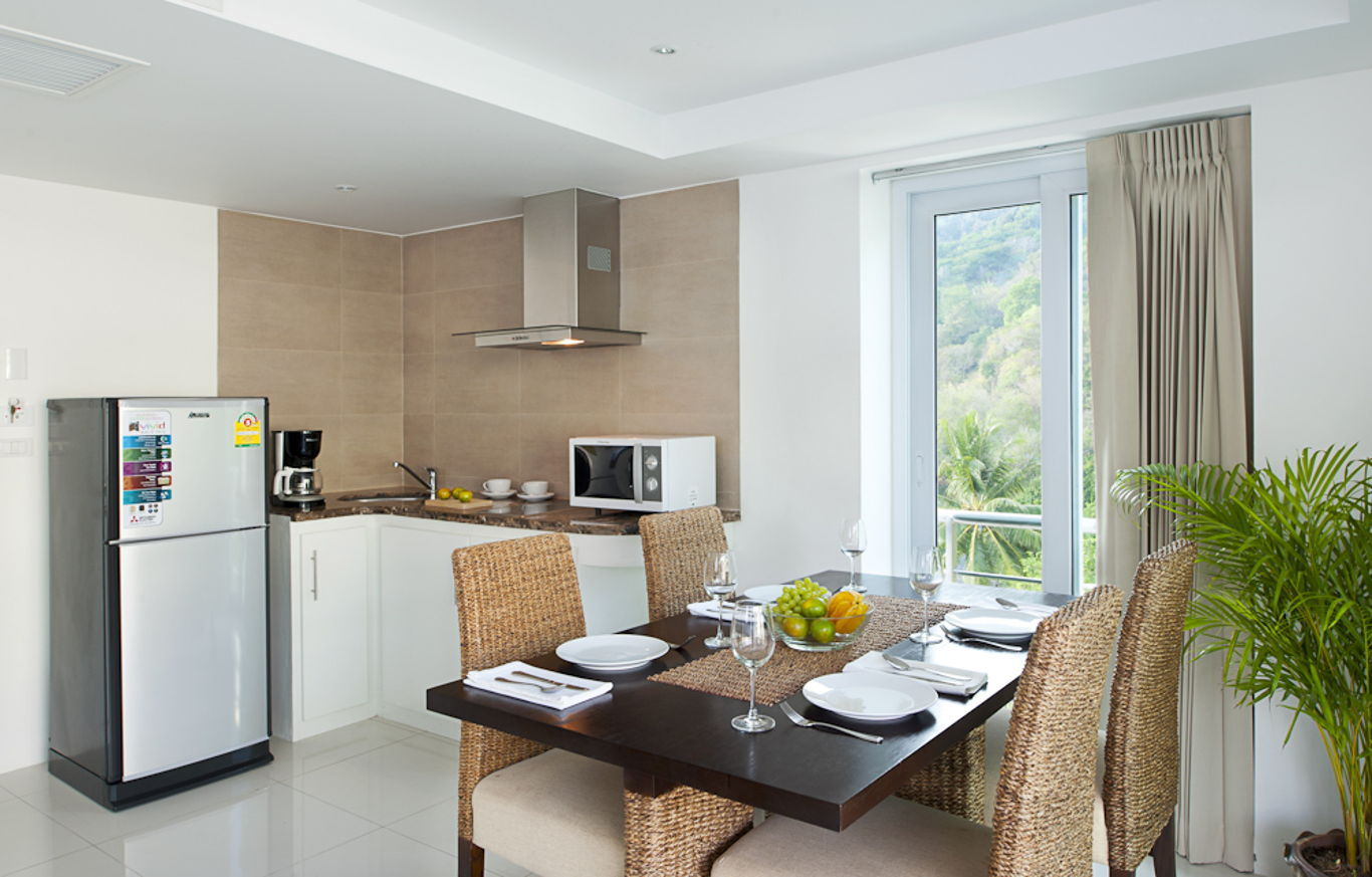 Phuket Holiday Services Kata Ocean View Residence 1 Bedroom Crystal Dining
