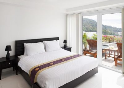 Phuket Holiday Services Kata Ocean View Residence 1 Bedroom Pearl Bedroom