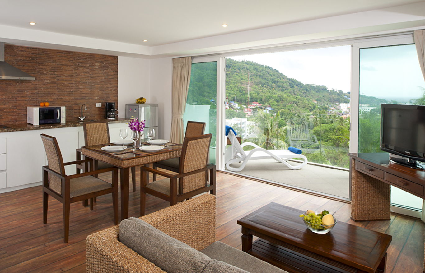 Phuket Holiday Services Kata Ocean View Residence 2 Bedroom Emerald 4