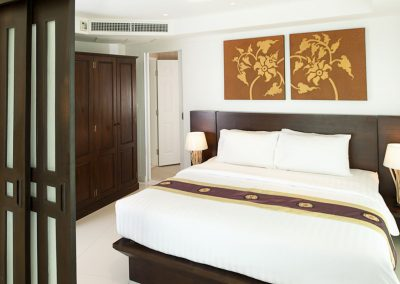 Phuket Holiday Services Kata Ocean View Residence 2 Bedroom Sapphire Bedroom