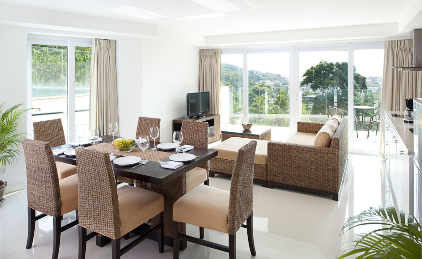 Phuket Holiday Services Kata Ocean View Residence 2 Bedroom Sapphire