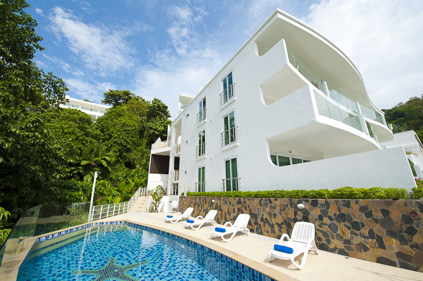 Phuket Holiday Services Kata Ocean View Residence Pool View