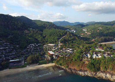 Phuket Holiday Services Naka Sea View Condominium From Nakalay Beach Towards Landsite