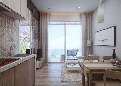 Phuket Holiday Services Naka Sea View Condominium Interior 1