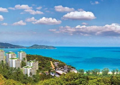 Phuket Holiday Services Naka Sea View Condominium Panorama