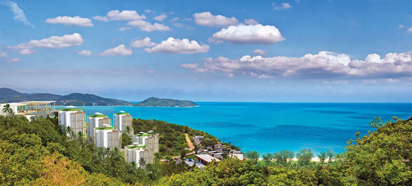 Phuket Holiday Services Naka Sea View Condominium Panorama