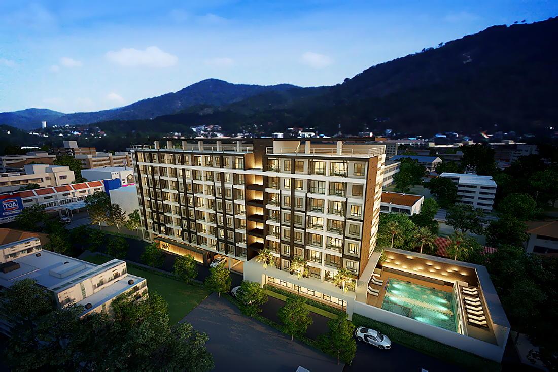 Phuket Holiday Services Patong Bay Residence Phase 2 Exterior