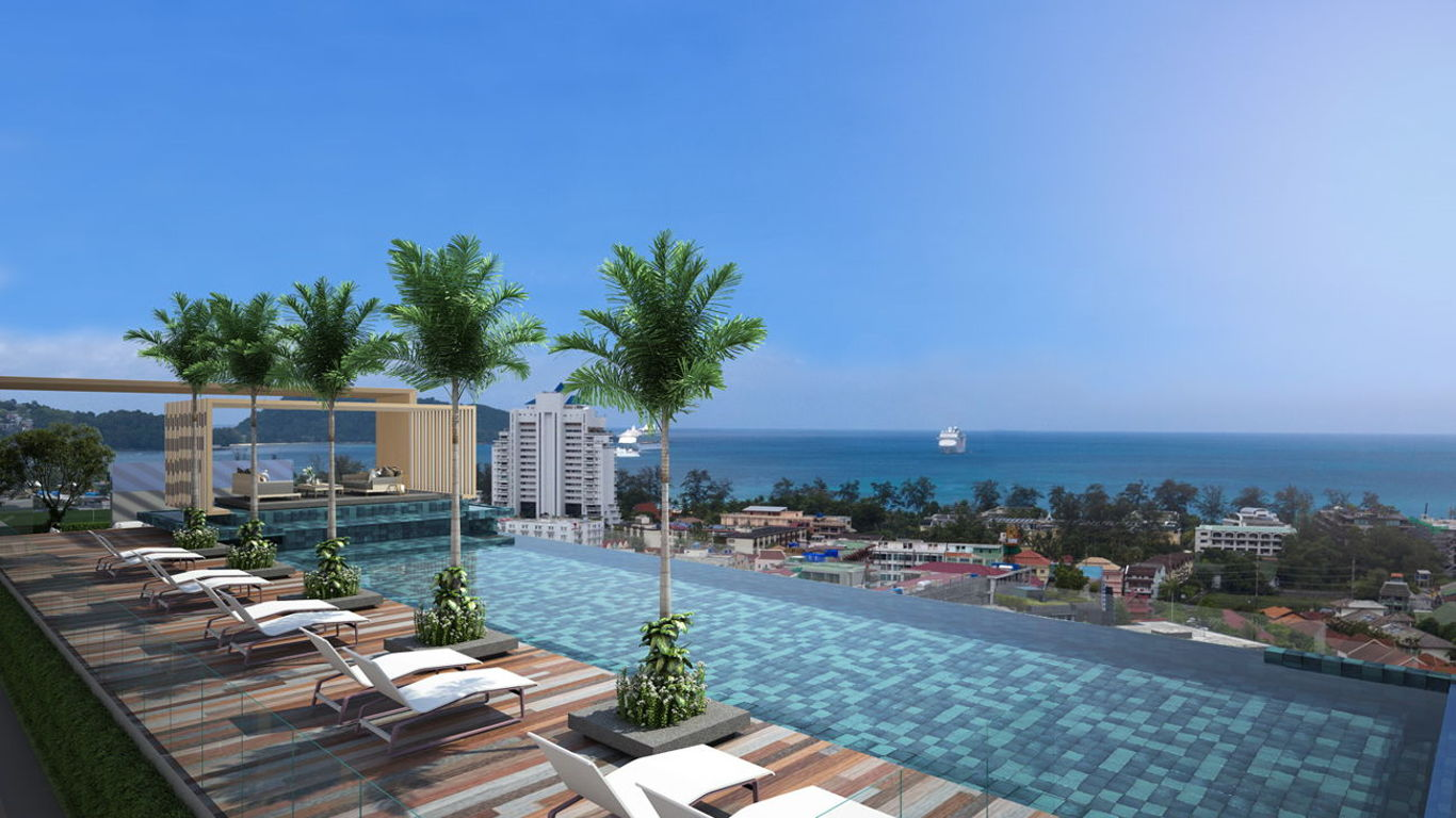 Phuket Holiday Services Patong Bay Residence Phase 3 Exterior 03