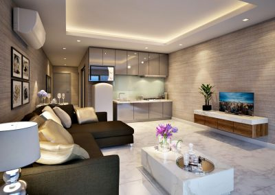 Phuket Holiday Services Patong Bay Residence Phase 4 Living Area