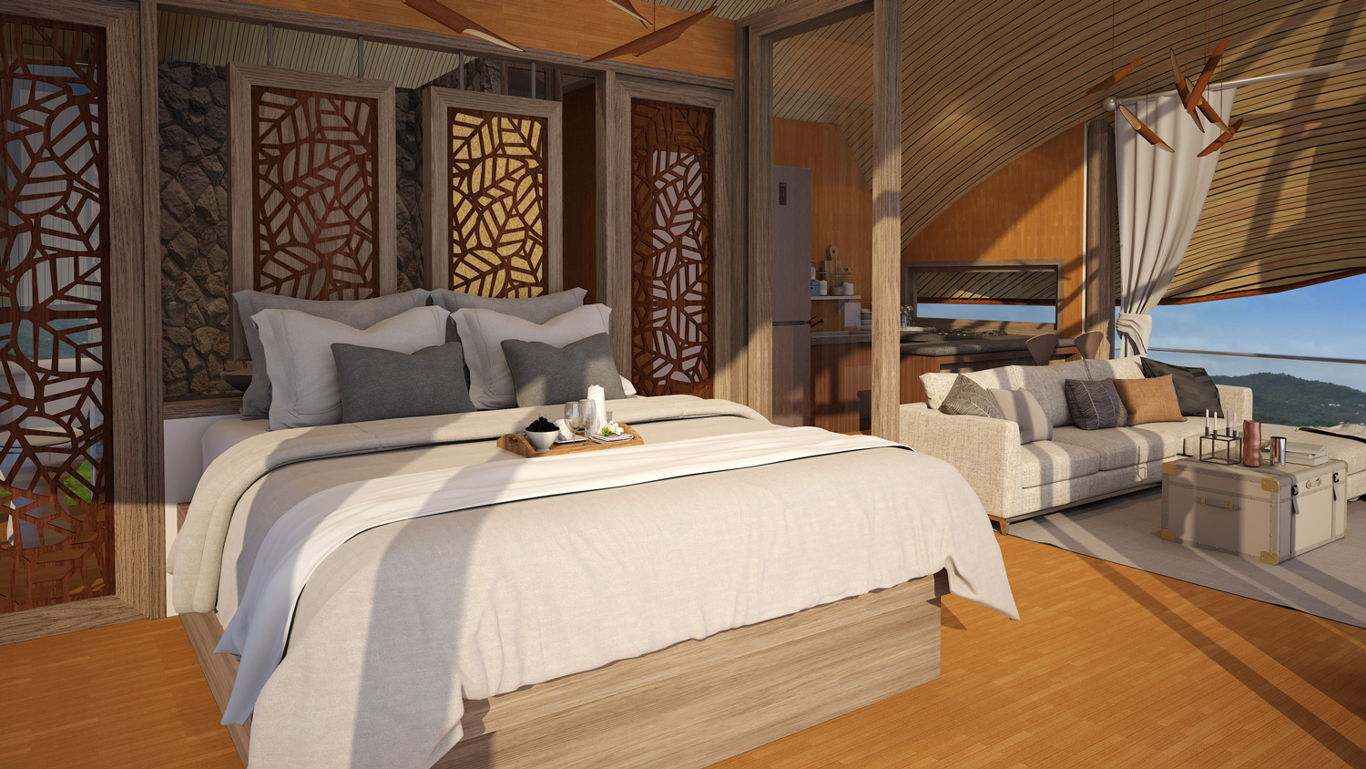Phuket Holiday Services Patong Bay Sea View Cottages Interior 02
