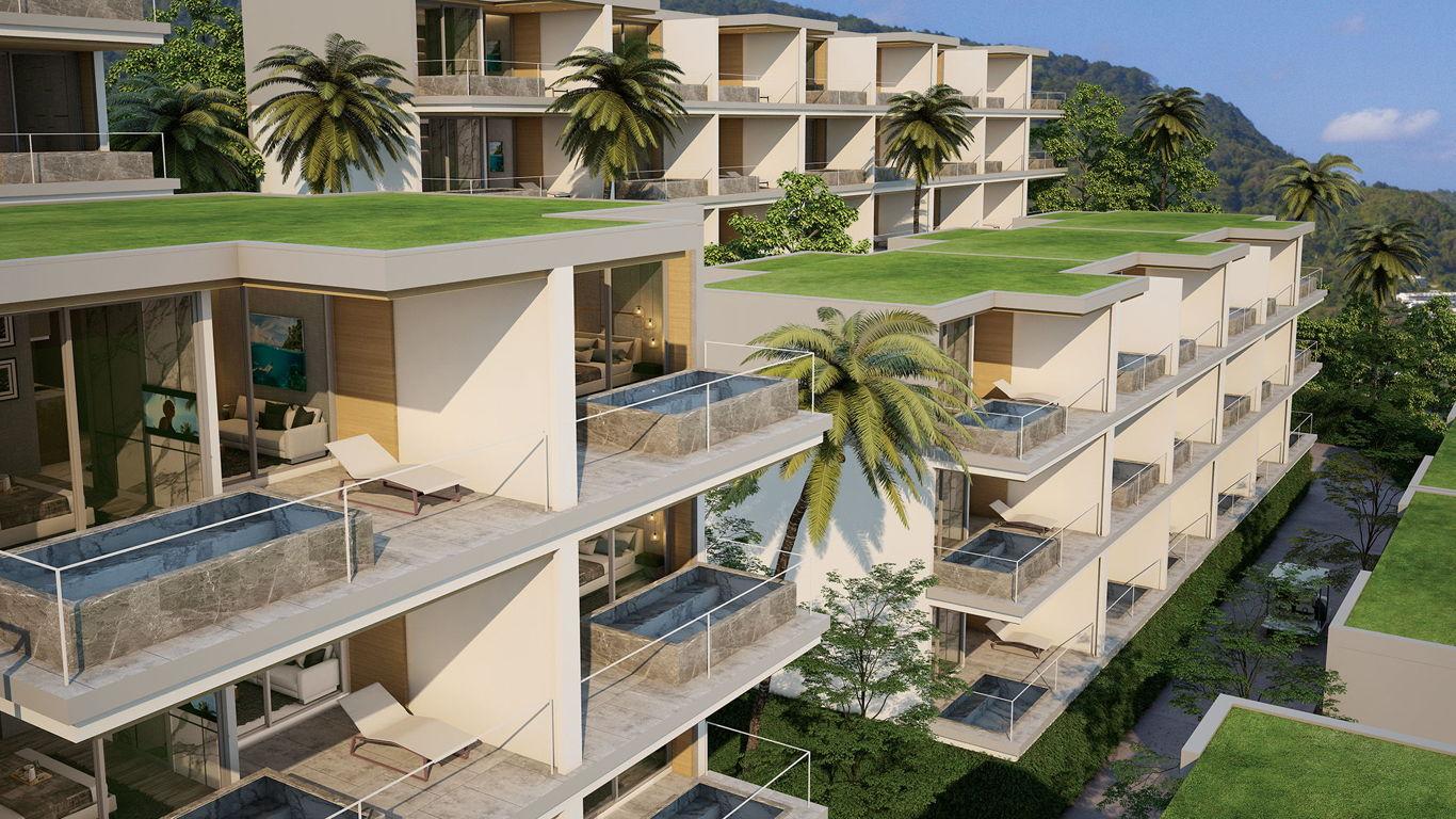 Phuket Holiday Services Patong Bay Seaview Residence Exterior 02