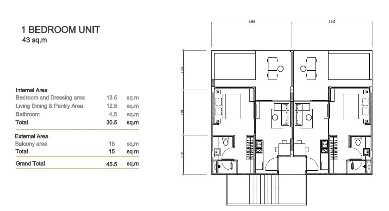 Phuket Holiday Services Patong Bay Seaview Residence Floor Plan