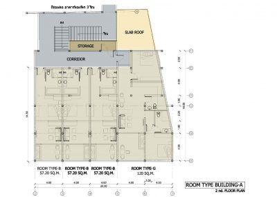 Phuket Holiday Services The Bay And The Beach Club Floor Plan Buidling A