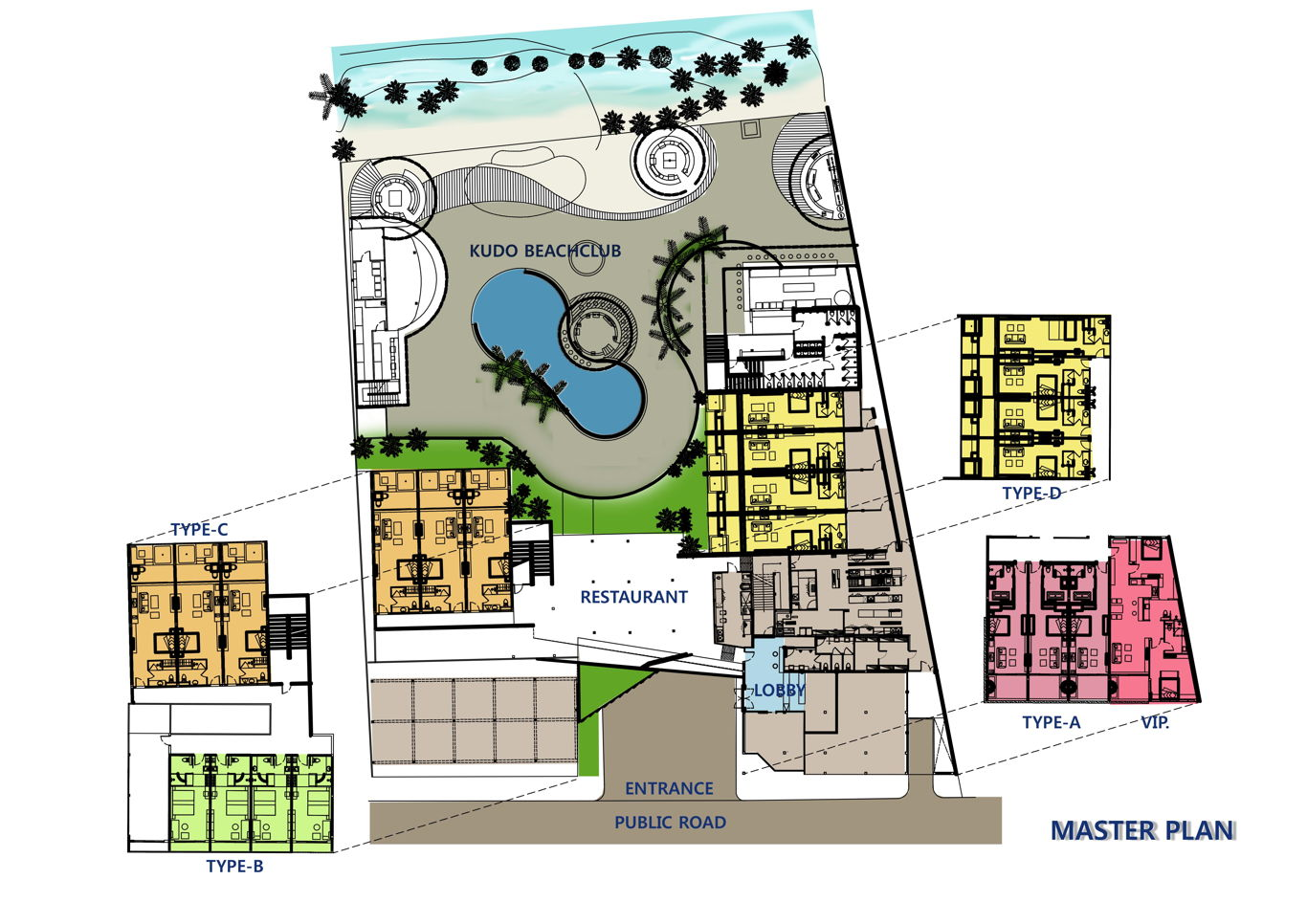 Phuket Holiday Services The Bay And The Beach Club Master Plan