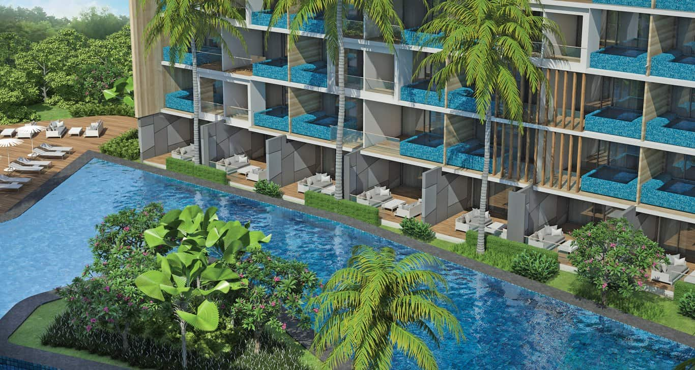 Phuket Holiday Services Paradise Beach Residence Exterior 05