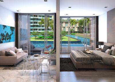 Phuket Holiday Services Paradise Beach Residence Interior 02