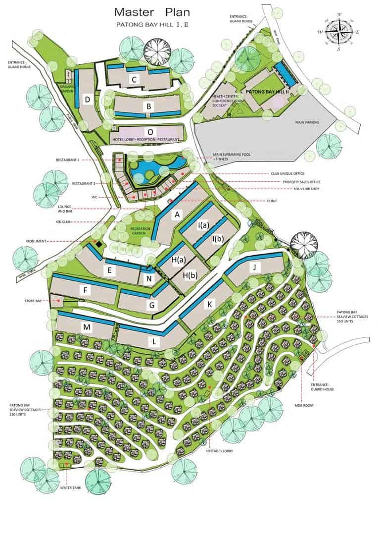Phs Patong Bay Hill Master Plan