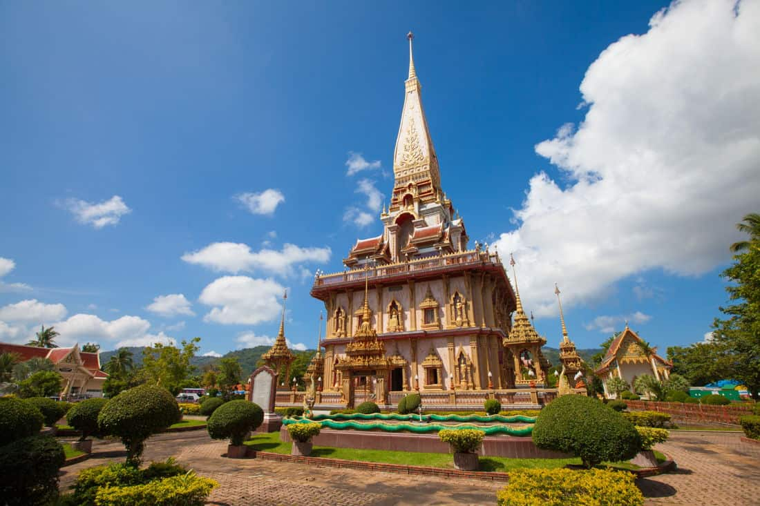 Discover Phuket's rich culture at Wat Chalong