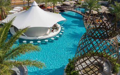 White Lagoon Pool Club; where the party's at in Patong Bay Hill Resort